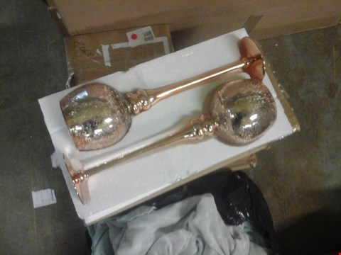 Lot 2258 TWO BOXES OF TWO STEM HOLDERS