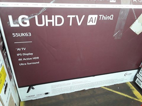 "Lot 1058 LG 55"" UHD 4K HDR SMART LED TELEVISION MODEL 55UK6300PLB RRP £1200.00"