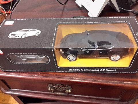 Lot 86 RADIO CONTROLLED BENTLEY CONTINENTAL GT