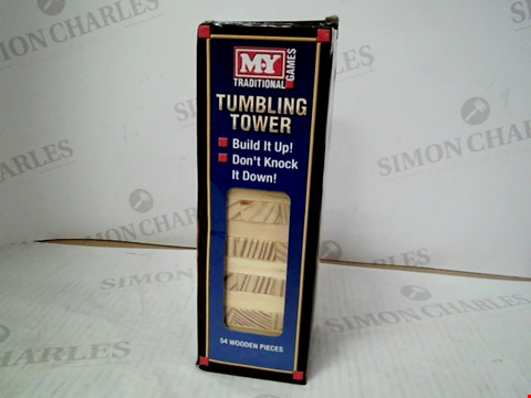 Lot 3118 MY TRADITIONAL GAMES TUMBLING TOWER
