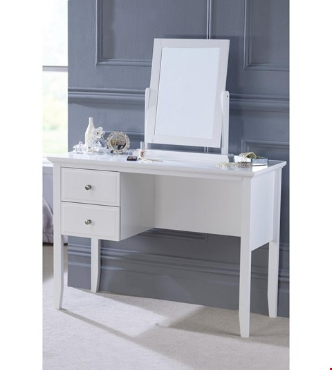 Lot 6 BOXED DRESSING TABLE WITH MIRROR