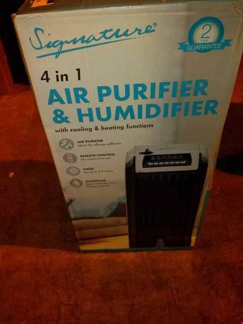 Lot 5914 SIGNATURE 4 IN 1 AIR PURIFIER AND DEHUMIDIFIER