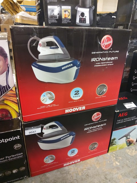 Lot 9046 BOXED HOOVER GENERATION FUTURE IRONSTEAM