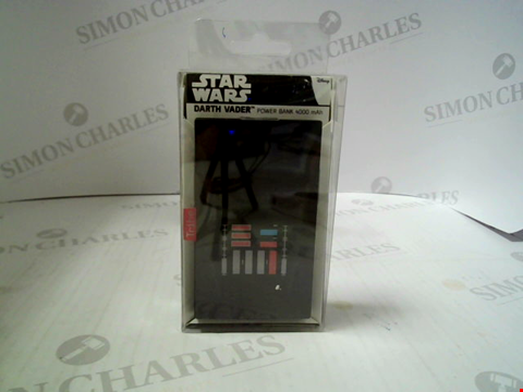 Lot 363 BRAND NEW STAR WARS DARTH VADER POWER BANK 4000 MAH