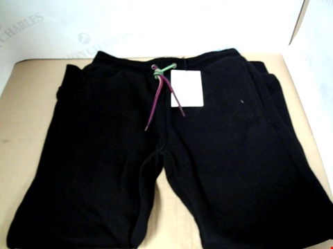 Lot 7116 PAUL SMITH JUNIOR BOYS VAHE BLACK JOG PANTS - SIZE 10 YEARS