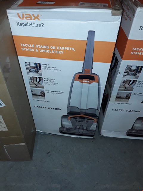 Lot 12664 VAX RAPIDE ULTRA 2 CARPET WASHER