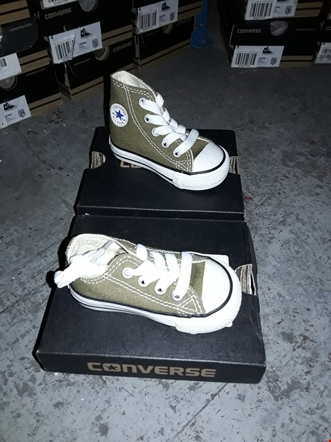 Lot 2055 LOT OF 6 ASSORTED BRAND NEW BOYS CONVERSE TRAINERS ASSORTED SIZES  RRP £120