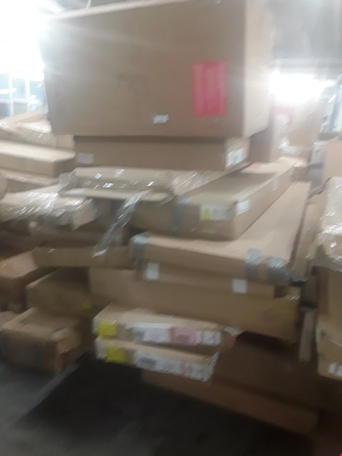 Lot 580 A LARGE PALLET OF ASSORTED FLATPACK FUNTIURE PARTS
