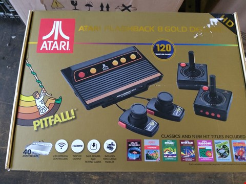 Lot 50 BOXED ATARI FLASHBACK 8 GOLD DELUXE GAMES CONSOLE