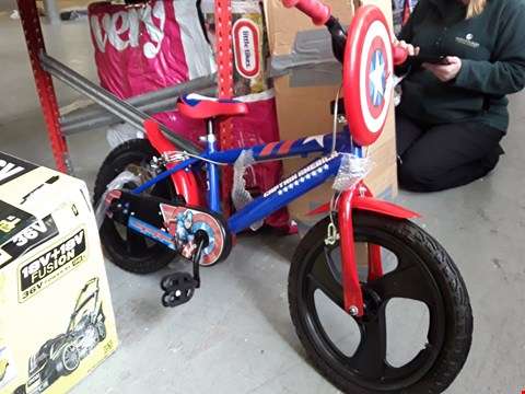 "Lot 2083 CAPTAIN AMERICA 16"" BOYS BIKE"