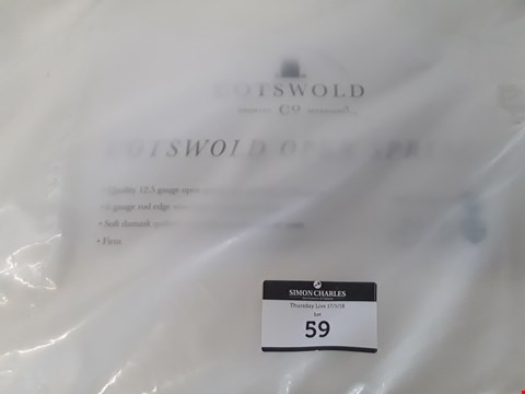 Lot 59 QUALITY BAGGED 5' KINGSIZE COTSWOLD OPEN SPRING MATTRESS