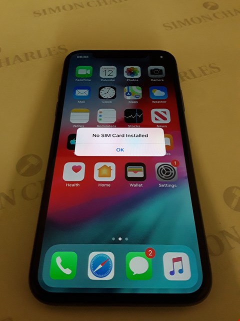 Lot 49 APPLE IPHONE X 64GB MOBILE PHONE - UNLOCKED