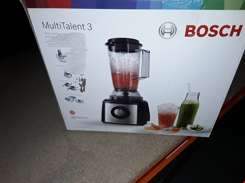 Lot 12487 BOSCH MULTI TALENT 3 KITCHEN ASSISTANT