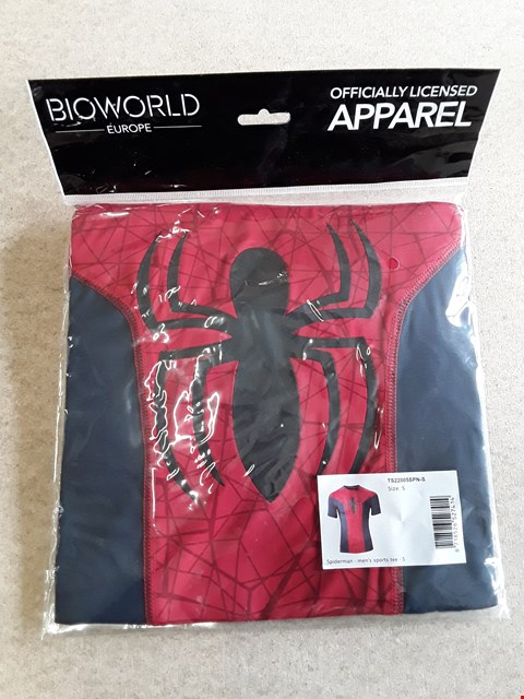 Lot 89 BRAND NEW SPIDERMAN OFFICIALLY LICENSED T-SHIRT