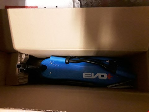Lot 551 EVO+ ELECTRIC SCOOTER  RRP £140