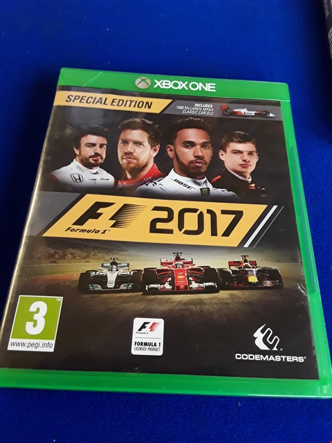 Lot 7644 F1 2017 XBOX ONE GAME