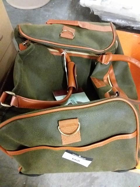 Lot 668 CONSTELLATION LEATHER HOLD ALL BAG