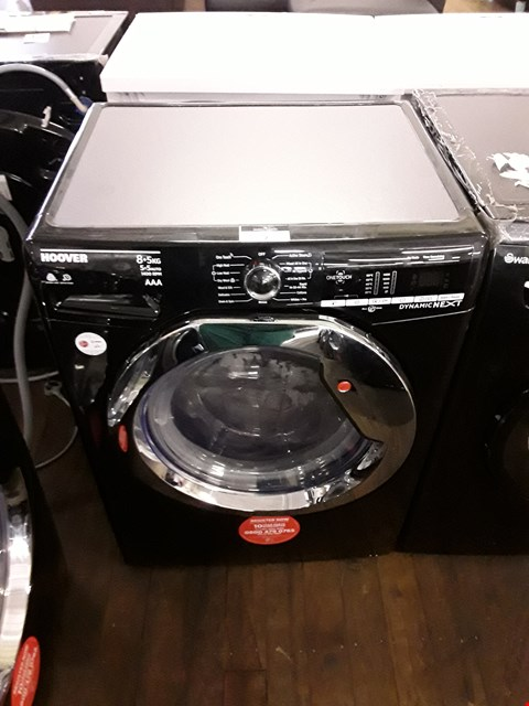 Lot 8 HOOVER DYNAMIC NEXT WDXOA 485ACB-80 FRONT-LOADING ELECTRIC WASHER/DRYER - 8 KG/5 KG  RRP £429.99
