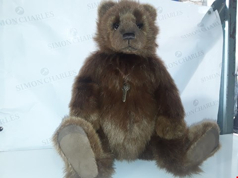 Lot 649 CHARLIE BEARS HELENA AND HOPE LIMITED TO 1500 PIECES NO.422 CERTIFICATE OF AUTHENTICITY