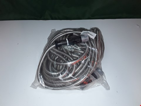 Lot 178 STAINLESS STEEL HOSE WITH SPRAY HEAD - 50FT