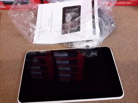 """Lot 379 EGL 7"""" 8GB TOUCH SCREEN ANDROID TABLET"""