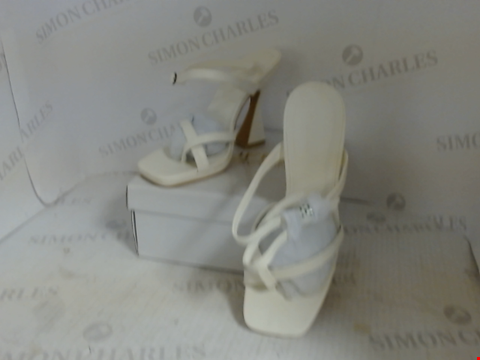 Lot 16096 BOXED PAIR OF DESIGNER TRUFFLE COLLECTION HEELS - UK SIZE 5