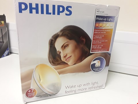 Lot 4544 BOXED PHILIPS WAKE UP LIGHT
