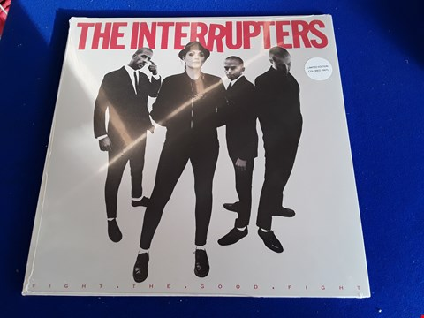 Lot 7684 THE INTERRUPTERS FIGHT THE GOOD FIGHT VINYL RECORD