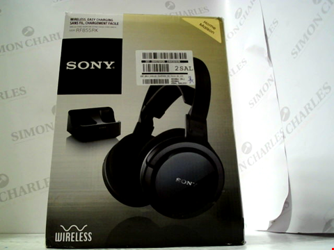 Lot 5546 SONY RF855 WIRELESS HEADPHONES RRP £119.99