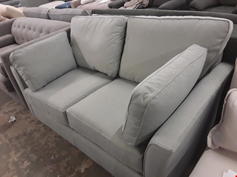 Lot 194 QUALITY HAND MADE GREEN FABRIC METAL ACTION SOFA BED  RRP £3198.00