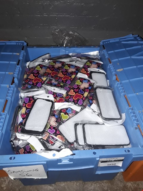 Lot 1650 BOX OF ASSORTED BRAND NEW SAMSUNG S6 CASES