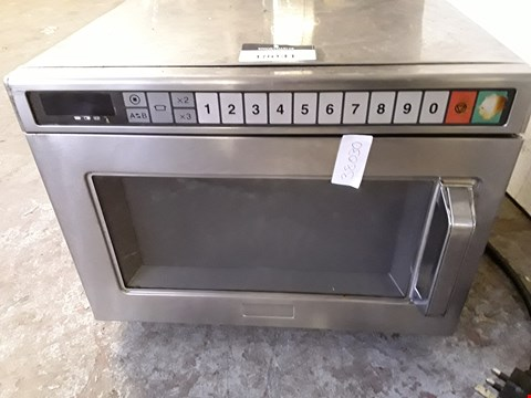 Lot 180041 COMMERCIAL MICROWAVE
