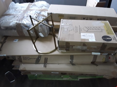 Lot 111 PALLET OF ASSORTED FLAT PACK FURNITURE PARTS