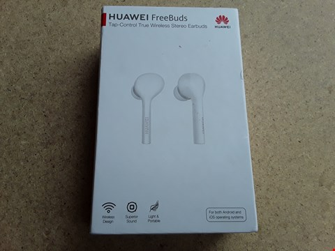 Lot 9370 HUAWEI FREEBIES WIRELESS STEREO EARBUDS
