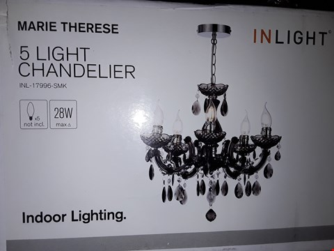 Lot 302 BOXED BRAND NEW MARIE TERESE CHANDELIER  RRP £64.99