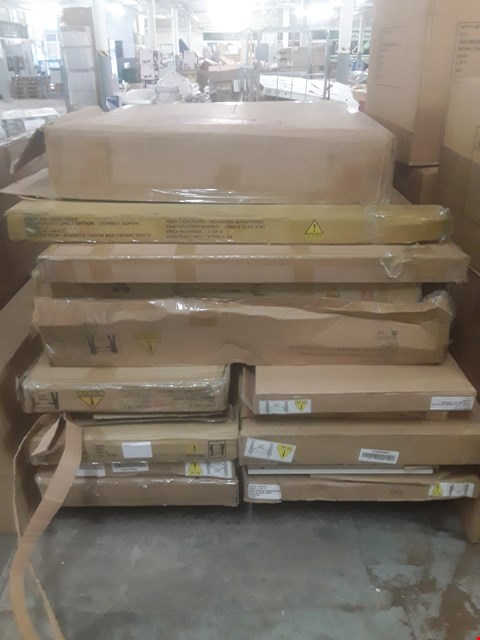 Lot 572 A LARGE PALLET OF ASSORTED FLATPACK FUNTIURE PARTS