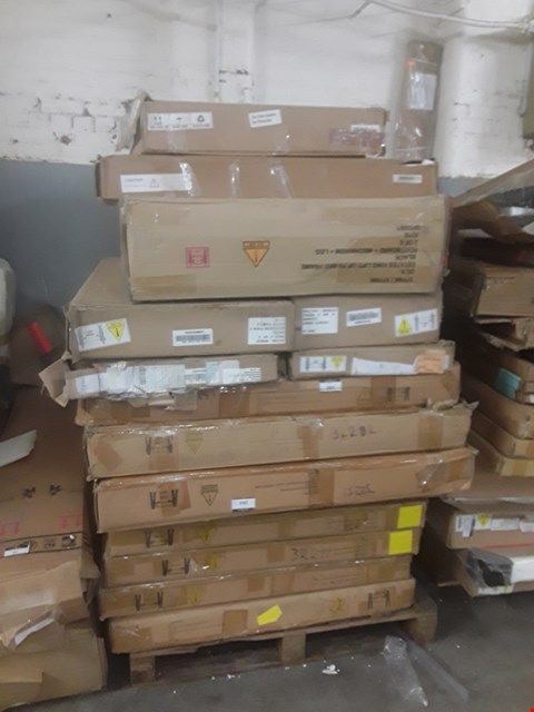 Lot 88 PALLET OF ASSORTED FLAT PACK FURNITURE BOXES