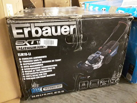 Lot 17226 EPBOXED ERBAUER CORDLESS LAWNMOWER