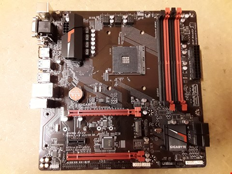 Lot 406 GIGABYTE AB350 GAMING AMD MOTHERBOARD