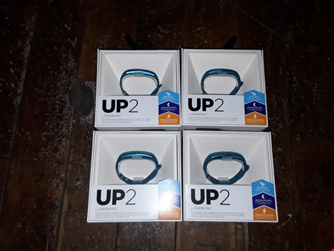 "Lot 6282 BOX OF APPROXIMATELY 4 ASSORTED ""UP 2"" BY JAWBONE ACTIVITY TRACKERS"