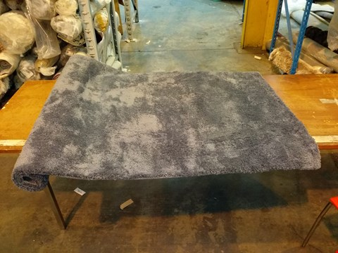 Lot 3053 DESIGNER TEDDY BEAR STEEL RUG 120X170CM