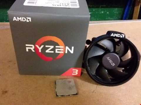 Lot 1009 AMD RYZEN 3 1200 PROCESSOR