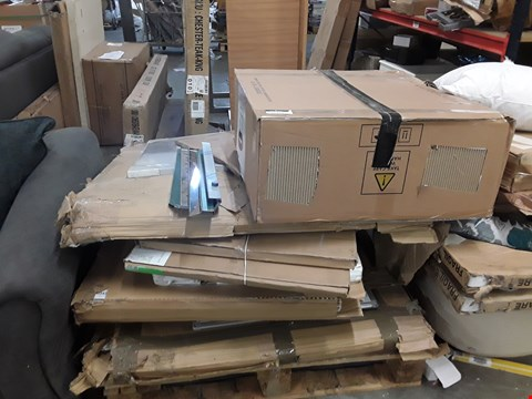 Lot 3570 PALLET OF ASSORTED FLAT PACK FURNITURE PARTS