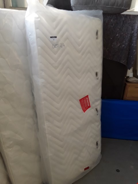 Lot 34 QUALITY BAGGED 90CM SINGLE MATTRESS