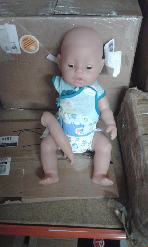 Lot 10900 BABY BORN INTERACTIVE DOLL RRP £62.99