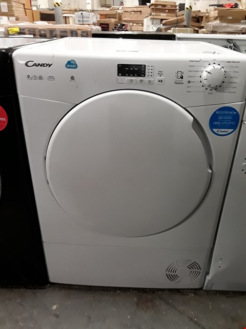 Lot 33 CANDY WHITE SENSOR CONDENSER TUMBLE DRYER RRP £219.99