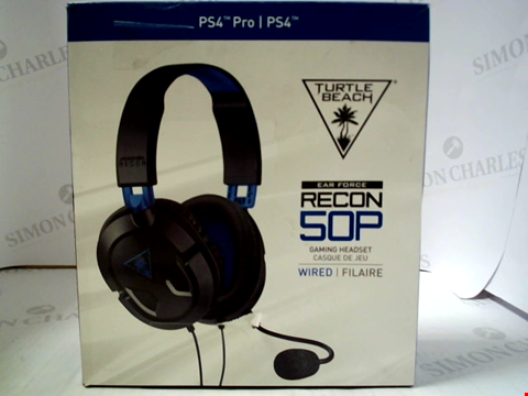 Lot 3168 TURTLE BEACH EAR FORCE RECON 50P WIRED GAMING HEADSET