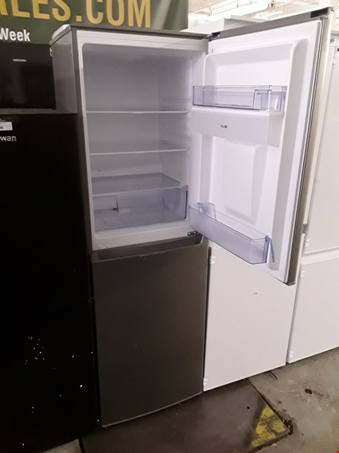Lot 87 SWAN SILVER 55CM FRIDGE FREEZER WITH WATER DISPENSER
