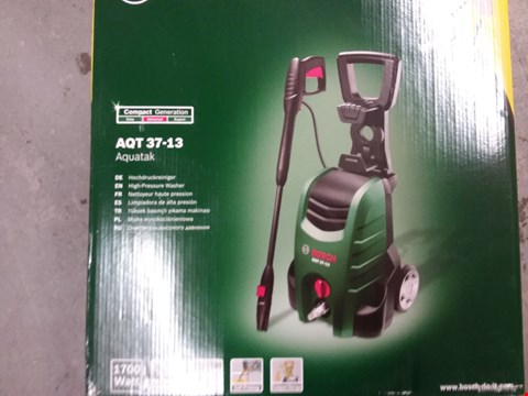 Lot 9560 BOSCH AQT 37-13 HIGH PRESSURE WASHER COMBI KIT