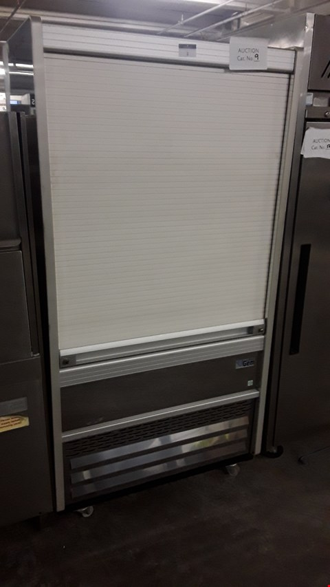 Lot 2 WILLIAMS REFRIGERATED DISPLAY UNIT WITH ROLLER SHUTTER FRONT